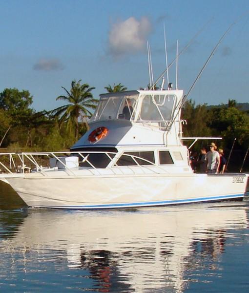 Port Douglas 34 foot custom fishing monohull