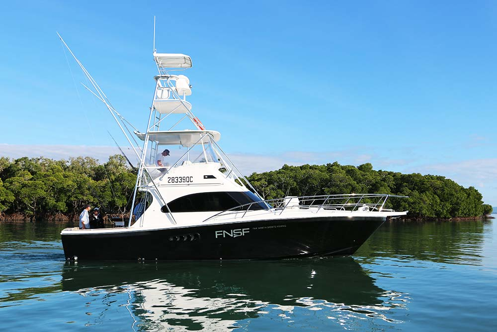 marlin fishing charter boat