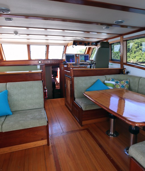 Luxury Barrier Reef Cruise Saloon