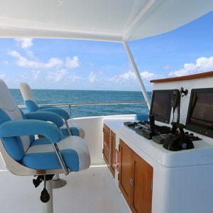 Luxury Barrier Reef Cruise Top Deck