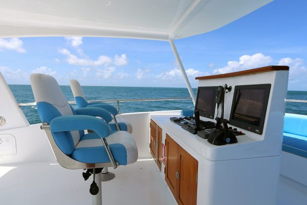 Luxury Barrier Reef Cruise Deck
