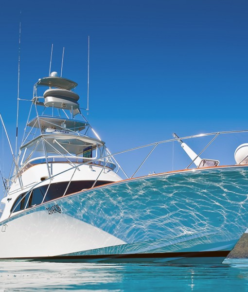 55 foot luxury game fishing boat
