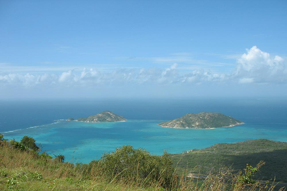 Lizard island islets