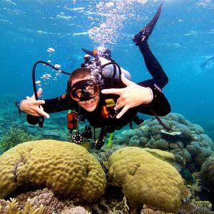 agincourt reef diving scuba