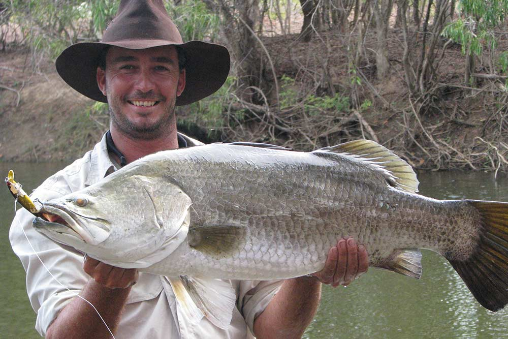 barramundi fishing safari big fish