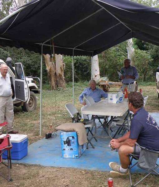 barramundi fishing safari tent city