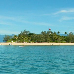 beautiful low island