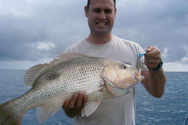 luxury fishing mothership fingermark