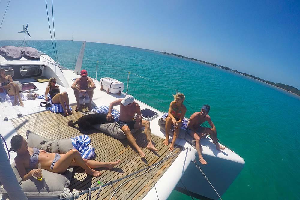 great barrier reef sailing decks