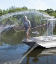 half day sportfishing charter cast net