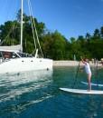 liveaboard sailing catamaran