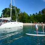 liveaboard sailing catamaran
