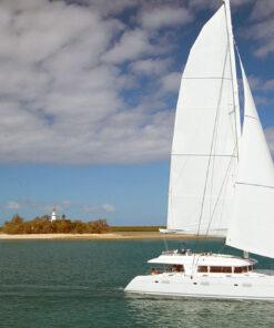 luxury island sailing