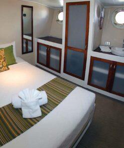 luxury fishing mothership cabin