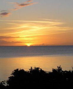 Lizard island sunset