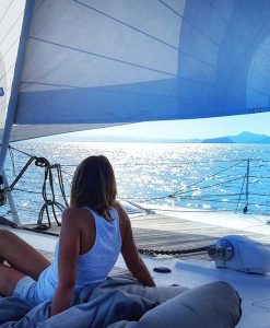 great barrier reef sailing deck