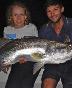 half day sportfishing charter barramundi