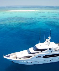 luxury motor yacht cay