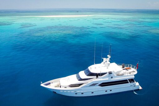 luxury motor yacht cay