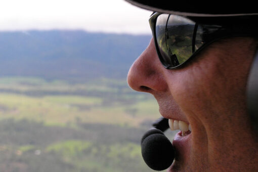 outback helicopter tour pilot