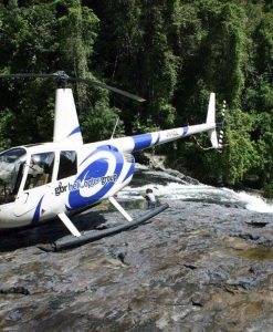 deluxe rainforest helicopter tour
